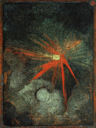 Albrecht Durer image of a heavenly body, probably a comet or meteor